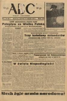 ABC : nowiny codzienne. 1937, nr358 A