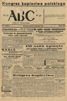 ABC : nowiny codzienne. 1937, nr360 A