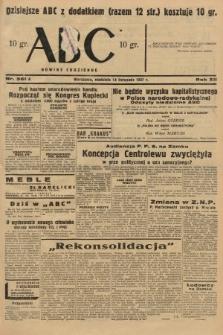 ABC : nowiny codzienne. 1937, nr361 A