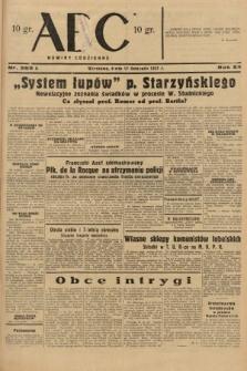 ABC : nowiny codzienne. 1937, nr365 A