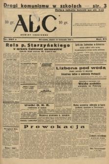 ABC : nowiny codzienne. 1937, nr367 A