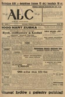 ABC : nowiny codzienne. 1937, nr369 A