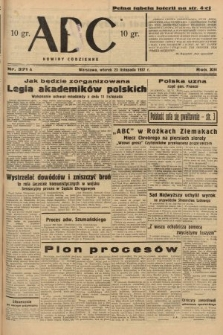 ABC : nowiny codzienne. 1937, nr371 A