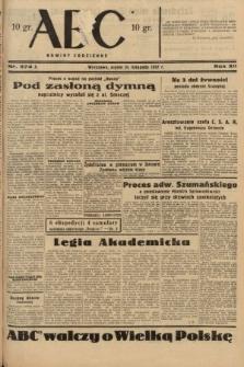 ABC : nowiny codzienne. 1937, nr374 A