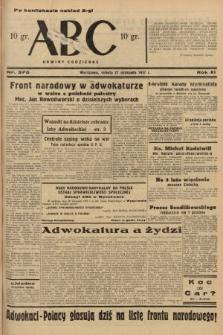 ABC : nowiny codzienne. 1937, nr376 [ocenzurowany]