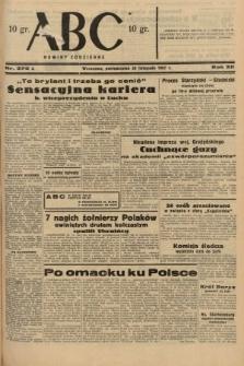 ABC : nowiny codzienne. 1937, nr378 A