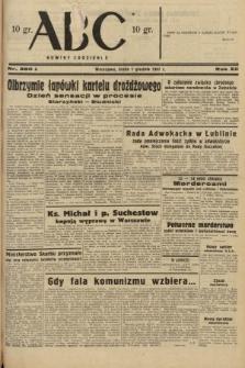ABC : nowiny codzienne. 1937, nr380 A