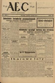 ABC : nowiny codzienne. 1937, nr381 A