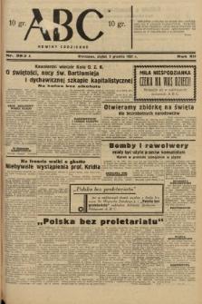 ABC : nowiny codzienne. 1937, nr382 A