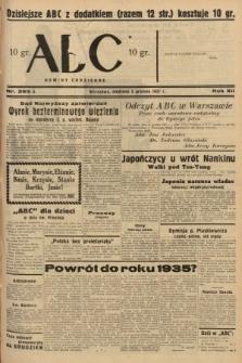 ABC : nowiny codzienne. 1937, nr385 A