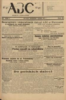 ABC : nowiny codzienne. 1937, nr386 A