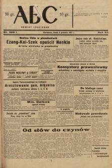 ABC : nowiny codzienne. 1937, nr388 A