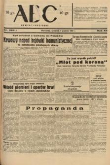 ABC : nowiny codzienne. 1937, nr389 A