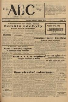 ABC : nowiny codzienne. 1937, nr392 A