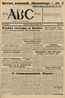 ABC : nowiny codzienne. 1937, nr400 A