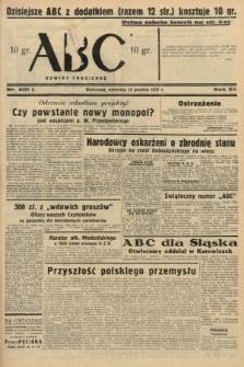 ABC : nowiny codzienne. 1937, nr401 A
