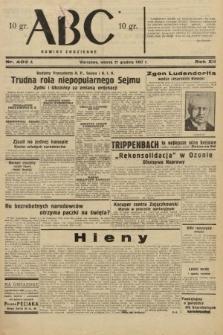 ABC : nowiny codzienne. 1937, nr403 A