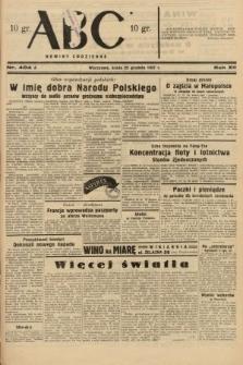 ABC : nowiny codzienne. 1937, nr404 A