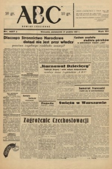ABC : nowiny codzienne. 1937, nr407 A