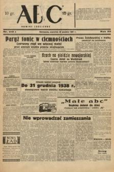 ABC : nowiny codzienne. 1937, nr410 A