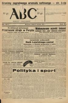 ABC : nowiny codzienne. 1937, nr411 A