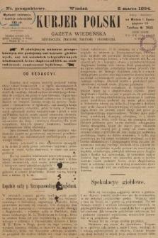 Kurjer Polski : gazeta wiedeńska informacyjna, finansowa, handlowa i ekonomiczna. 1894, nr prospektowy