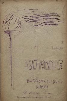 Pochodnia : dwutygodnik młodzieży polskiej. 1908, nr 1