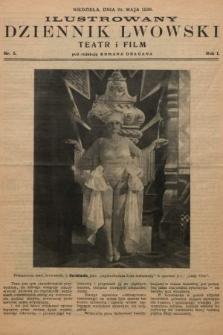 Ilustrowany Dziennik Lwowski : teatr, film, radio. 1928, nr5