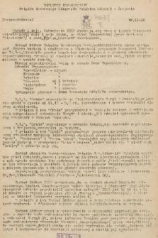 Biuletyn Informacyjny Związku Zawodowego Literatów Polskich Oddział w Krakowie. [1948], nr11-12