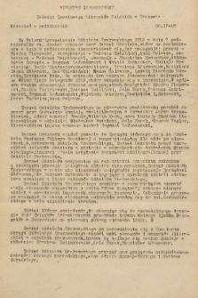 Biuletyn Informacyjny Związku Zawodowego Literatów Polskich w Krakowie. [1948], nr17-18