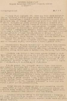 Biuletyn Informacyjny Związku Zawodowego Literatów Polskich Oddział w Krakowie. [1947], nr7 i 8