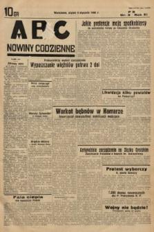 ABC : nowiny codzienne. 1936, nr3