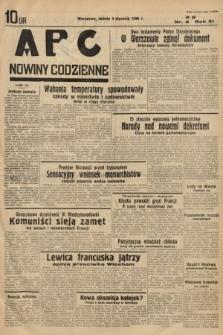 ABC : nowiny codzienne. 1936, nr4