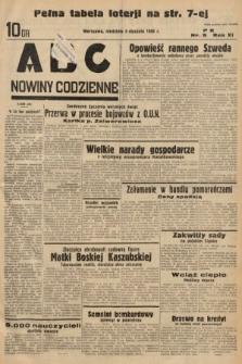 ABC : nowiny codzienne. 1936, nr5