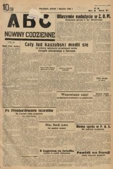 ABC : nowiny codzienne. 1936, nr6