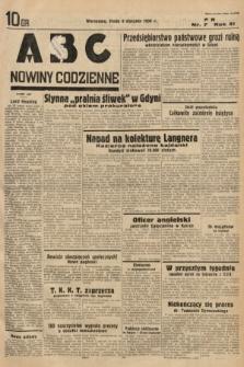 ABC : nowiny codzienne. 1936, nr7
