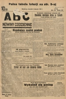ABC : nowiny codzienne. 1936, nr8