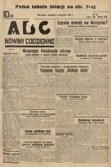 ABC : nowiny codzienne. 1936, nr12