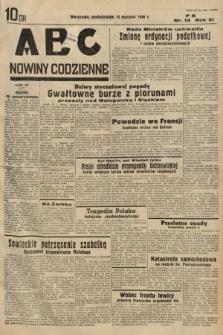 ABC : nowiny codzienne. 1936, nr13