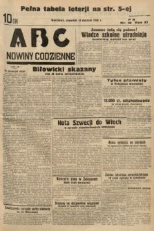 ABC : nowiny codzienne. 1936, nr16