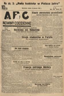 ABC : nowiny codzienne. 1936, nr18