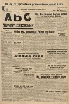 ABC : nowiny codzienne. 1936, nr20