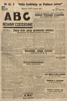 ABC : nowiny codzienne. 1936, nr21