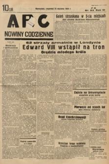 ABC : nowiny codzienne. 1936, nr23