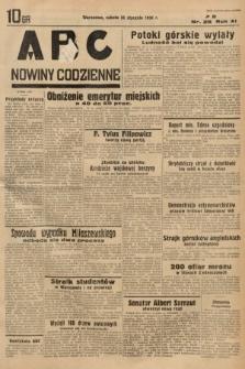 ABC : nowiny codzienne. 1936, nr26