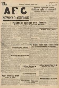 ABC : nowiny codzienne. 1936, nr27