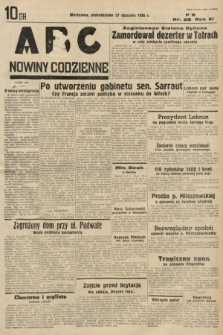 ABC : nowiny codzienne. 1936, nr28