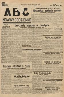 ABC : nowiny codzienne. 1936, nr29