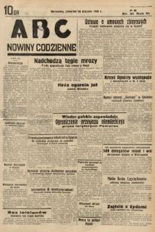 ABC : nowiny codzienne. 1936, nr31