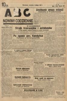 ABC : nowiny codzienne. 1936, nr34